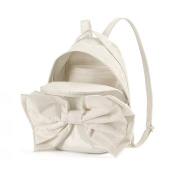 Puma Archive Bow Suede Backpack, ranac, bela