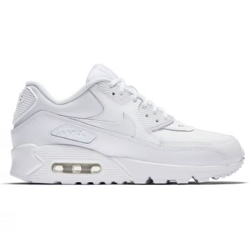 Nike Air Max 90 LEATHER, ženske patike za slobodno vreme, bela, AIR MAX 90