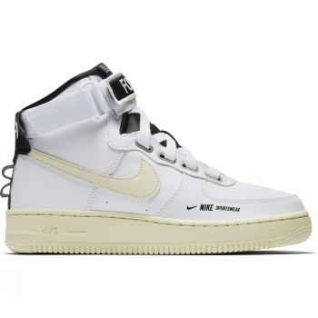 Nike Air Force 1 High Utility, ženske patike za slobodno vreme, bela, air force